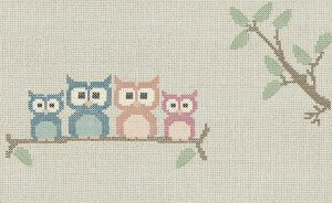 wallpaper cross stitch owl 769 suite collection (1)