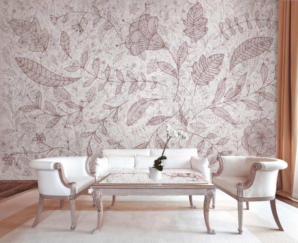 wallpaper floral atmosphere 46 peeking nature (1)