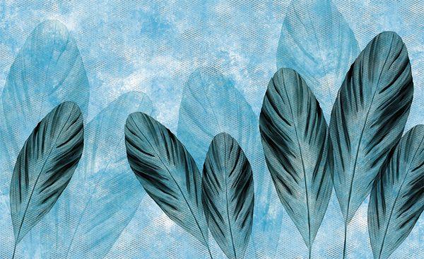 wallpaper flying leaves 15 peeking nature (1)