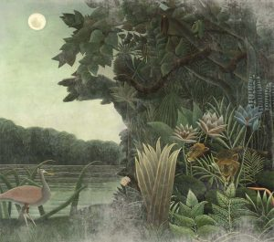 wallpaper homage to rousseau 507 arts in the past (2)