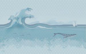 wallpaper ukiyo-e 41 animal attitude (1)