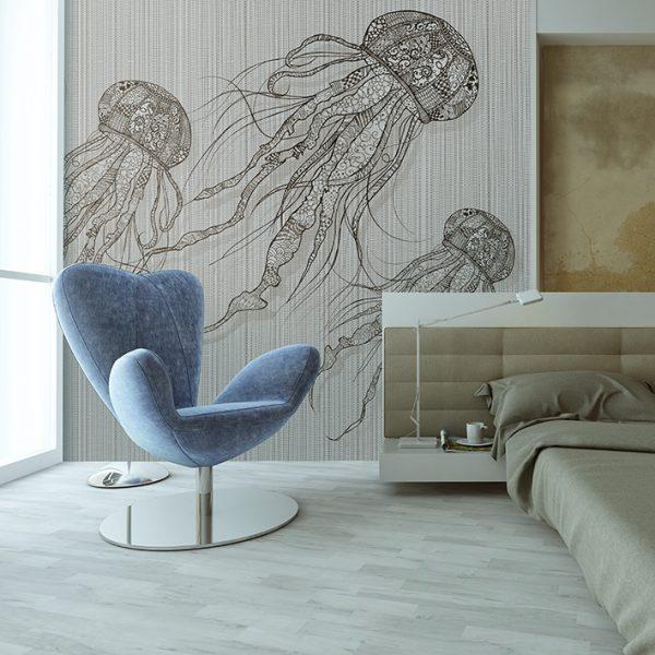wallpaper white stich vw4017 animal attitude (2)